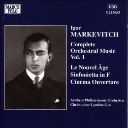Markevitch: Complete Orchestra Music, Vol.1