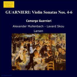 Camargo Guarnieri: Violin Sonatas Nos. 4 - 6