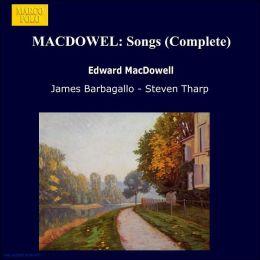 Complete Songs (Macdowell)