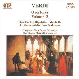Verdi: Overtures, Vol. 2