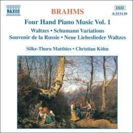 Brahms: Four Hand Piano Music, Vol. 1