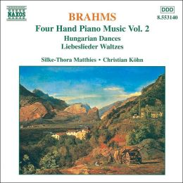 Brahms: Four Hand Piano Music, Vol.2