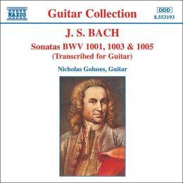 Bach: Sonatas Transcribed for Guitar