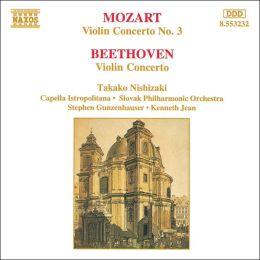 Mozart: Violin Concerto No. 3; Beethoven: Violin Concerto