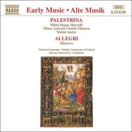 Palestrina, Allegri: Choral Works