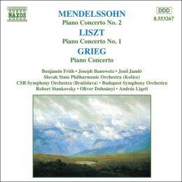 Mendelssohn, Liszt, Grieg: Piano Concerti