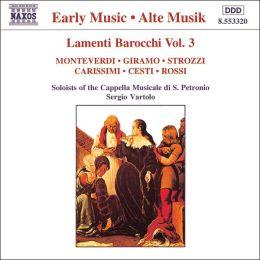 Lamenti Barochi, Vol. 3