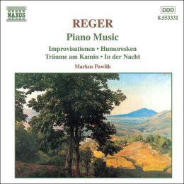 Reger: Piano Music