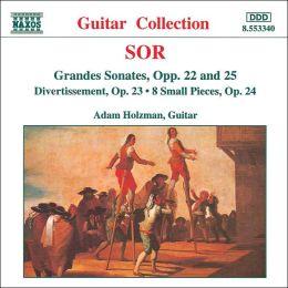 Sor: Grandes Sonatas, Opp. 22 & 25