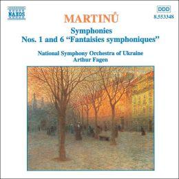 Martinu: Symphonies Nos. 1 & 6 (
