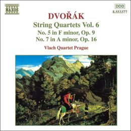 Dvorák: String Quartets Vol. 6