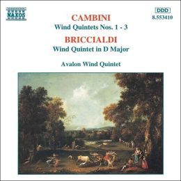 Cambini: Wind Quintets Nos. 1-3