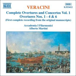 Veracini: Overtures Nos. 1-4 & 6