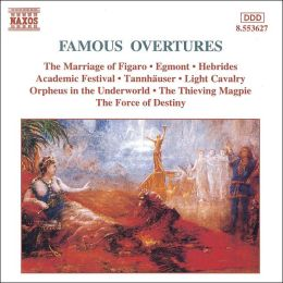 Famous Overtures [Naxos]