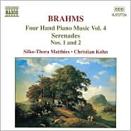 Brahms: Four Hand Piano Music, Vol. 4