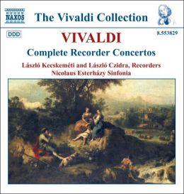 Vivaldi: Complete Recorder Concertos