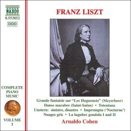 Franz Liszt: Complete Piano Music, Vol. 1