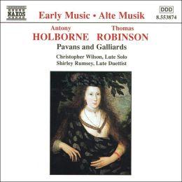 Lute Music (Holborne / Robinson)