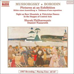 Mussorgsky: Pictures at an Exhibition; Night on the Bare Mountain; Borodin: In the Steppes of Central Asia