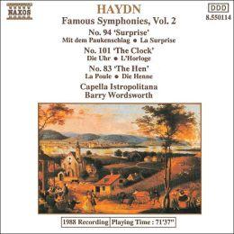 Haydn: Symphonies Nos. 83, 94, 101