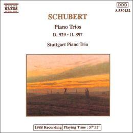 Schubert: Piano Trios, D. 929 & D. 897