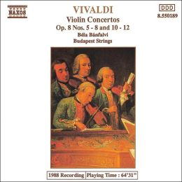 Vivaldi: Violin Concertos, Op. 8, Nos. 5-8