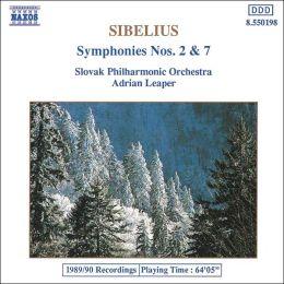 Sibelius: Symphonies Nos. 2 & 7