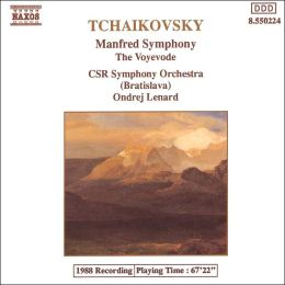 Tchaikovsky: Manfred Symphony; The Voyevode