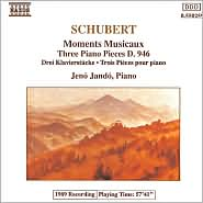 Schubert: Moments Musicaux; Three Piano Pieces