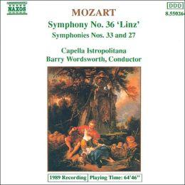 Mozart: Symphonies Nos. 36 (