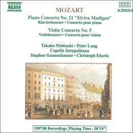 Mozart: Piano Concerto / Violin Concerto