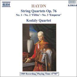 Haydn: String Quartets Op. 76, Nos. 1-3