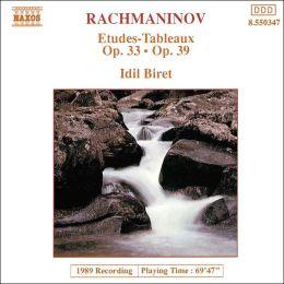 Rachmaninov: Etudes-Tableaux, Opp. 33 & 39