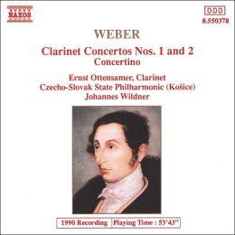 Weber: Clarinet Concertos - Concertino