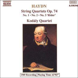 Haydn: String Quartets, Op. 74, Nos. 1-3