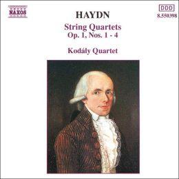 Haydn: String Quartets, Op. 1, Nos. 1-4