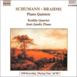 Brahms, Schumann: Piano Quintets