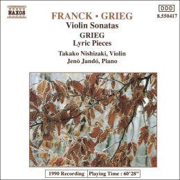 Franck, Grieg: Violin Sonatas