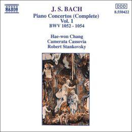 Bach: Complete Piano Concertos, Vol. 1