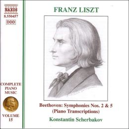 Liszt: Piano Transcriptions of Beethoven's Symphonies