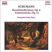 Schumann: Davidsbündlertänze, Op. 6; Fantasiestücke, Op. 12