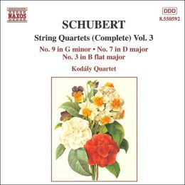Schubert: String Quartets (Complete), Vol. 3