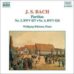 J.S. Bach: Partitas Nos. 3 & 4