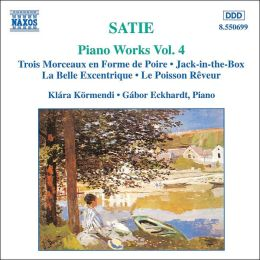 Satie: Complete Piano Works Vol. 4