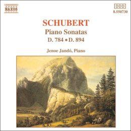 Schubert: Piano Sonatas D. 784 & D. 894