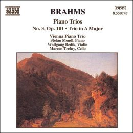 Brahms: Piano Trio No. 3; Trio in A major