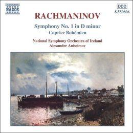 Rachmaninov: Symphony No1; Capriccio on Gypsy Themes Op12