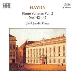 Haydn: Piano Sonatas Vol. 2, Nos. 42-27