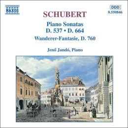 Schubert: Piano Sonatas D. 537 & D. 664