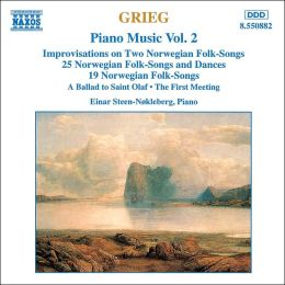 Grieg: Piano Music, Vol. 2